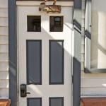 Heretic Condos Park City unit 4 front door