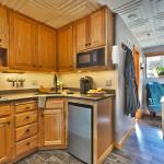 Heretic Condos Park City unit 4 kitchen