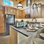 Heretic Condos Park City unit 3 kitchen
