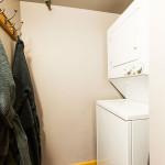 Heretic Condos Park City unit 1 laundry room