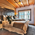 Heretic Condos Park City unit 2, 2 bedroom, 2 bath, bedroom