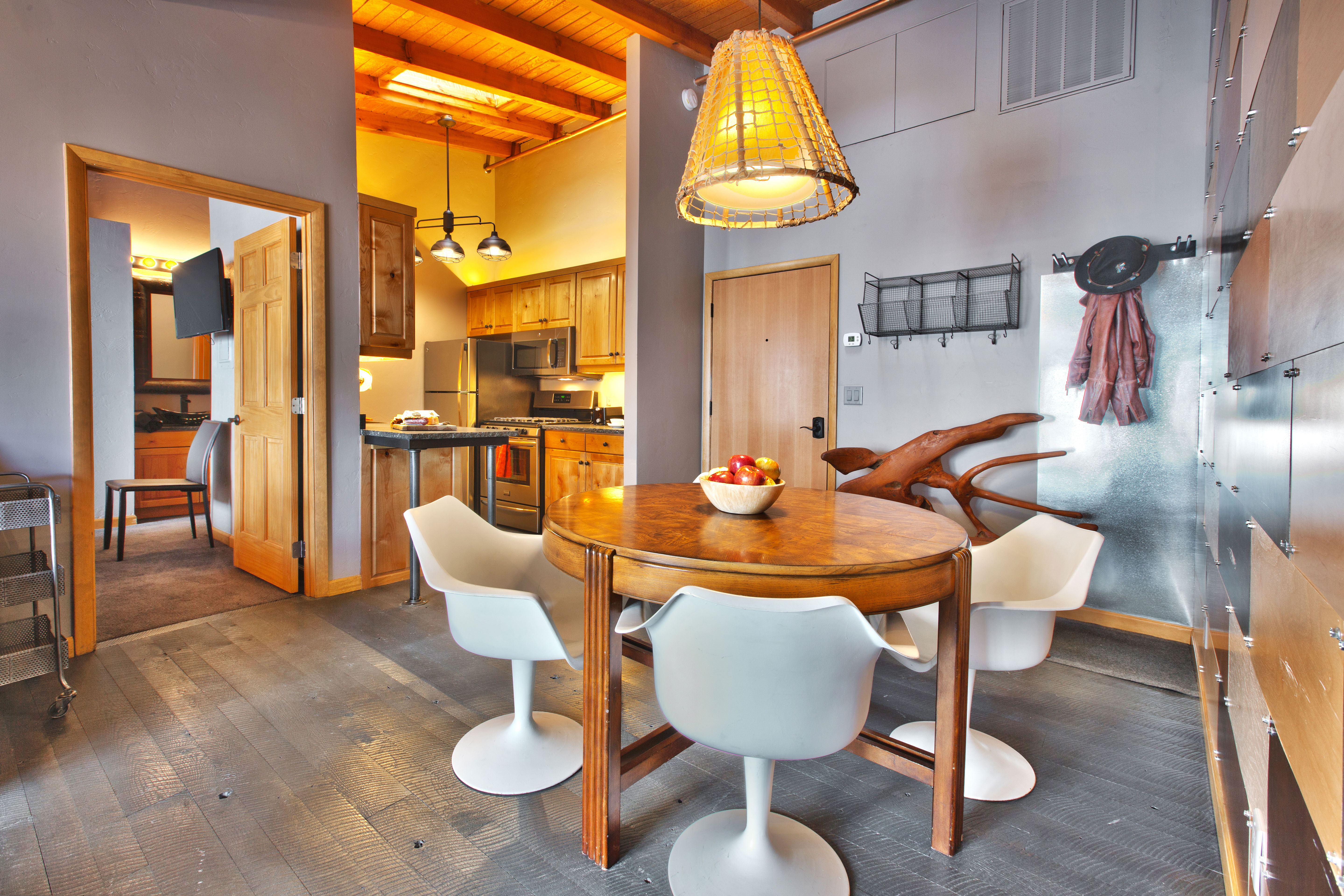Heretic Condos Park City Unit 2, 2 Bedroom, 2 Bath, Dining Room And