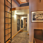 Heretic Condos Park City unit 2, 2 bedroom, 2 bath, hallway